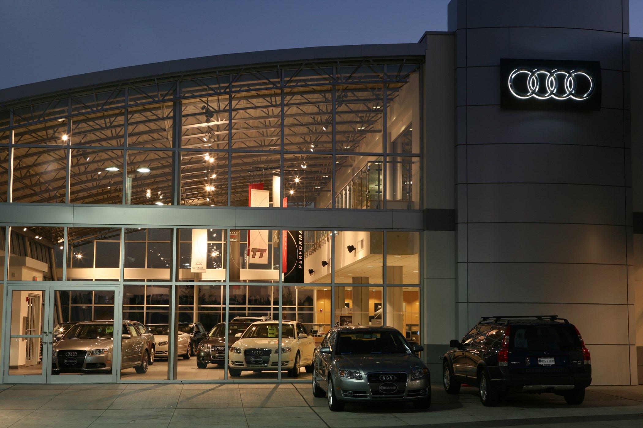 Studio Lux Lighting Barrier Audi